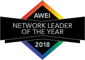 AWEI Network Leader Logo